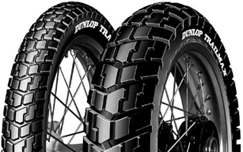 Pneumatika na scooter 120 / 90 - 10 57J TL Dunlop TRAILMAX