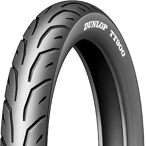 Moto pneu80 / 90 - 17 50P TT Dunlop TT900